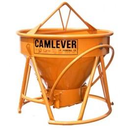 Ballast Bucket with Camlever gate with1/2 yard capacity
